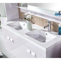 Double vasque 110 cm - catalogue 2019 - [RueDuCommerce - Carrefour]