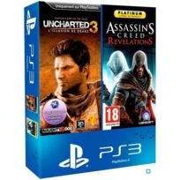 Sony - Uncharted 3 : L'Illusion de Drake - Game Of The Year Edition + Assassin's Creed Revelations - Platinum
