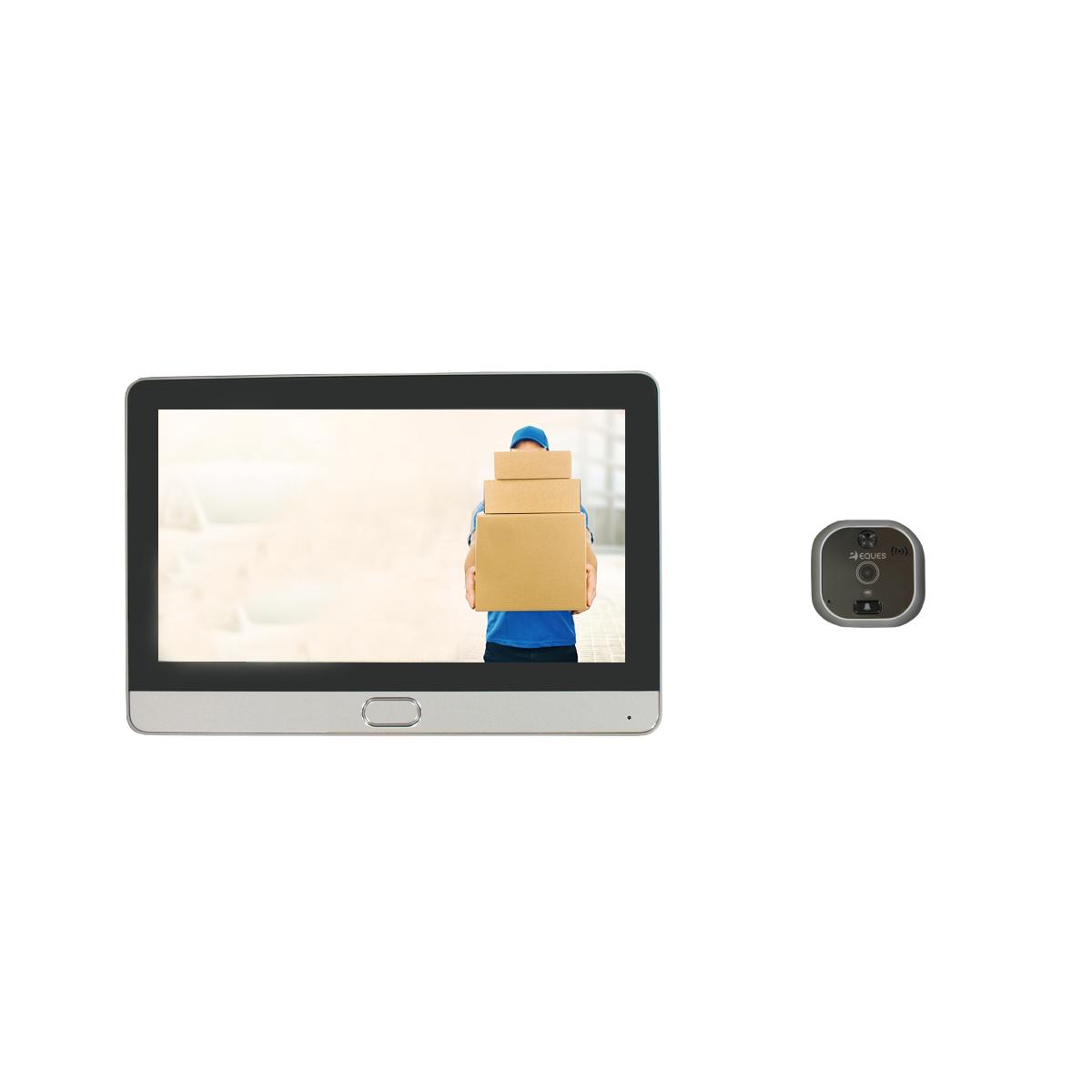 Judas de porte numérique Wi-Fi à écran tactile et interphone vidéo R22 Espy2
