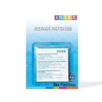 Intex - 6 rustines de réparation pour bateau gonflable