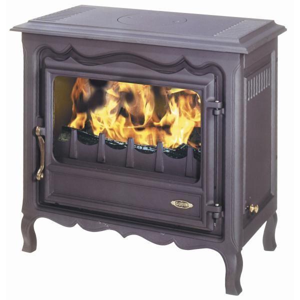 godin po le bois fonte 3144n anthracite pas cher achat vente po les bois. Black Bedroom Furniture Sets. Home Design Ideas