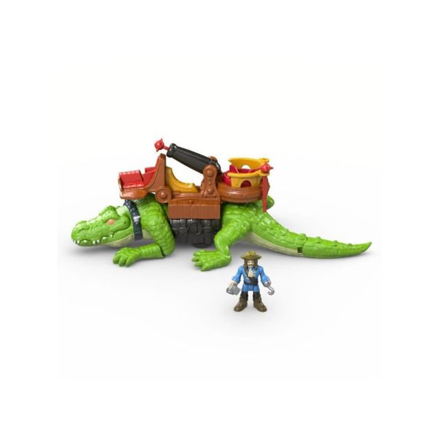 Fisher Price Fisher-price Imaginext Crocodile et Capitaine Crochet - 3 ans et