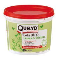 Quelyd - Colle Déco Frises et stickers 500g - 30601673