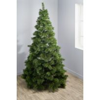 CARREFOUR - Sapin artificiel style naturel n°21 - H 240 cm - DE65191
