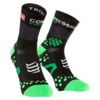 Compressport - Chaussettes ProRacing Socks v2.1 Run Hi noir vert