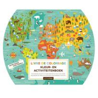 Dam - Livre de coloriage Petit Collage : Notre Monde