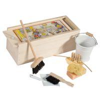 BURSTENHAUSREDECKER - Set de ménage Maison de poupée