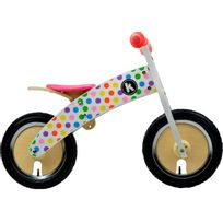 Kiddimoto - Vélo Enfant - Kurve - Draisienne - rose/Multicolore