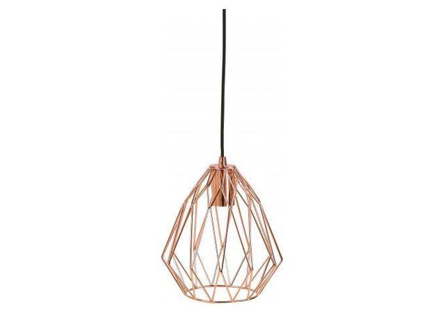 declikdeco - lampe abat-jour filaire cuivre oxted - pas cher achat