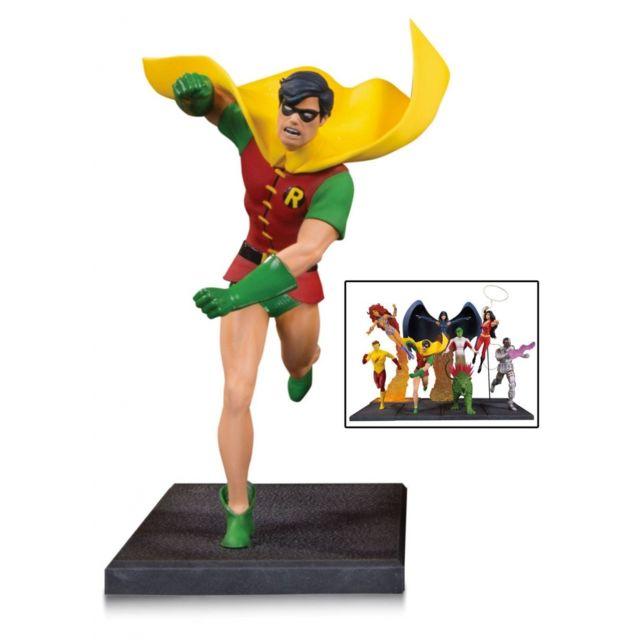 Dc Collectibles Teen Titans - Statuette Robin partie 1 sur 7, 19 cm