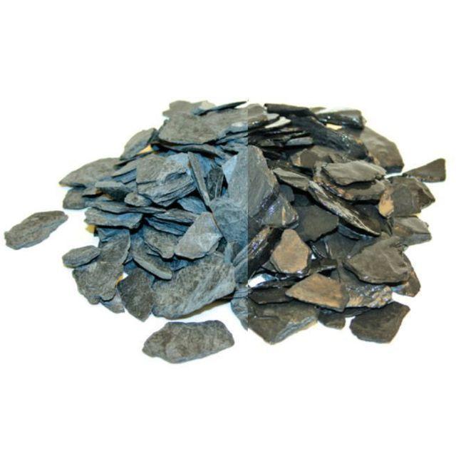 SECRET VERT Paillis d'ardoises bleu noir 20 kgs