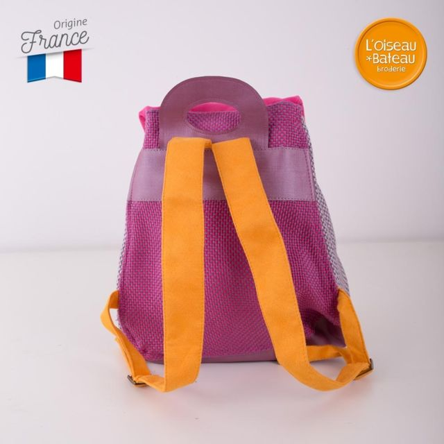 L'OISEAU Bateau - Nicht bestickt Rucksack Violette