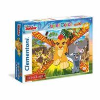 Clementoni - Disney - Puzzle 104 pièces La Garde du Roi Lion