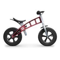 FirstBIKE - Vélo enfant Cross rouge avec freins