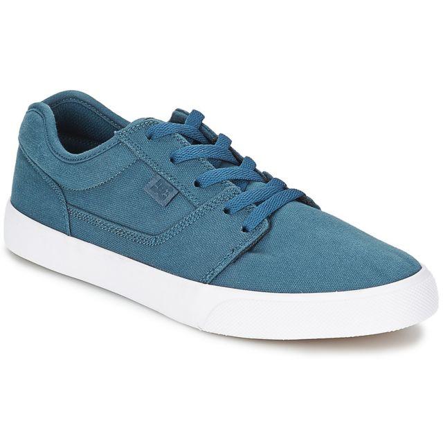 dd6bd1664afa Dc - Shoes Tonik Tx Blue Bleu - 40 1/2 - pas cher Achat / Vente Baskets  homme - RueDuCommerce