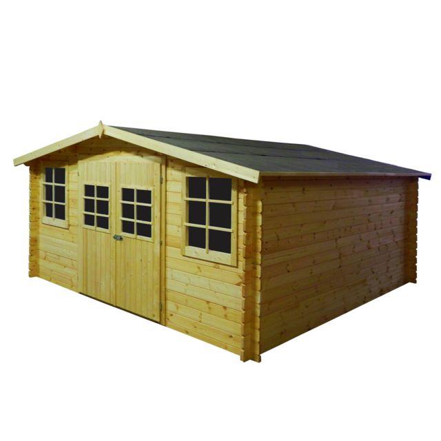 norrwood abri de jardin emboite 12m 28mm pas cher achat vente abris en bois rueducommerce. Black Bedroom Furniture Sets. Home Design Ideas