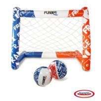 D'arpeje Outdoor - Funbee Cage de Foot Gonflable + 2 Ballons Gonflables 30 cm
