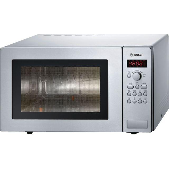 Bosch micro-ondes gril 25l 900w inox - hmt84g451