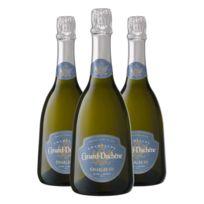 Champagne Canard-duchene - Charles Vii Blanc de Blancs Bouteille avec coffret Lot de 3 bouteilles
