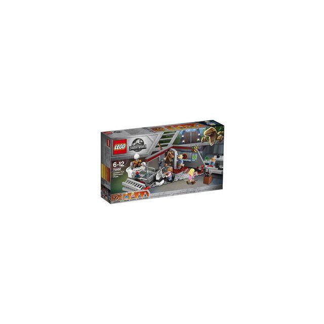Lego 75932 - ® Jurassic World La poursuite du Vélociraptor Jurassic Park
