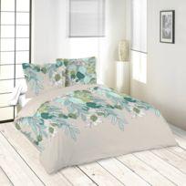 Lefebvre Textile - Parure de lit Liane 240 x 220 cm