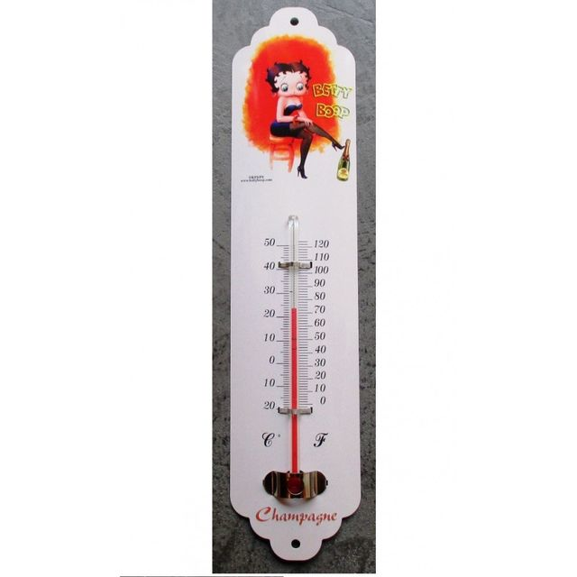Universel Thermometre betty boop bouteille de champagne deco cuisine