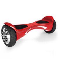 Hoverboard Nova Rouge ? Bluetooth Musique - 8 Pouces