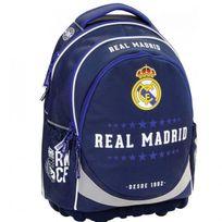 Real Madrid - Sac à dos Ergonomique Blue 45 Cm Haut de Gamme - 2 cpt