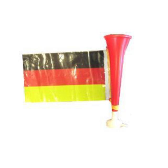 Trompette en plastique dor/ée 30cm Qualit/é COOLMINIPRIX/® Lot de 3