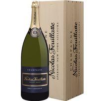 Champagne Nicolas Feuillatte - Brut Reserve Salmanazar avec caisse bois