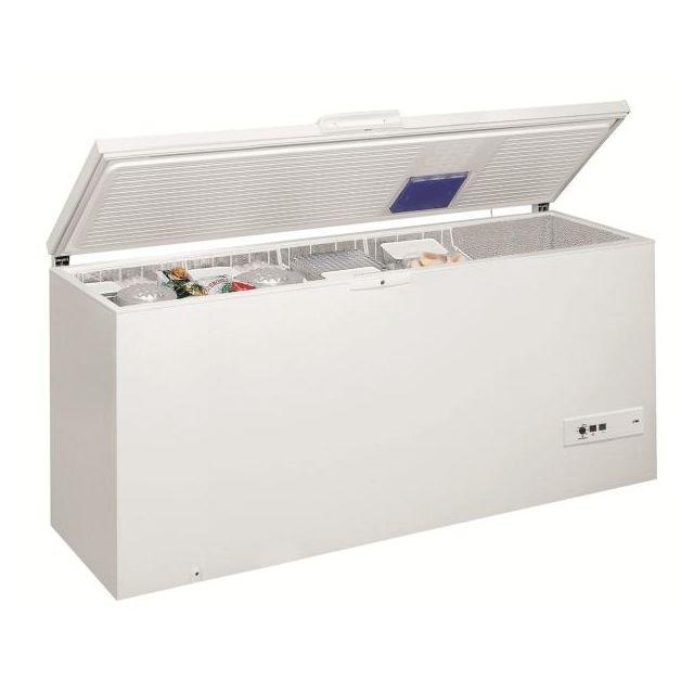 Whirlpool congélateur coffre 140cm 454l a+ blanc - whm4611