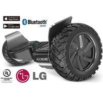 Hooboard - Hoverboard skate électrique gros pneus roues cross certifié Ul 800 Watts bluetooth application smartphone connectée