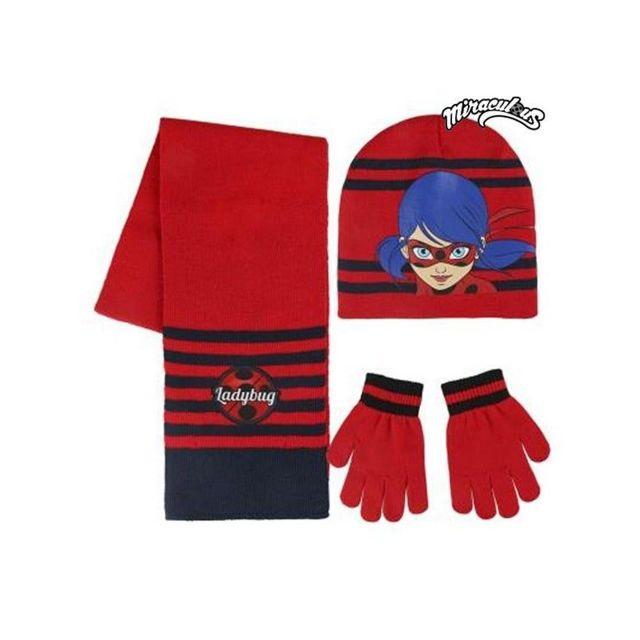 Ladybug - Bonnet, écharpe et gants Lady Bug 189 - pas cher Achat ... 307d6bb22f5