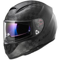 Ls2 - casque moto intégral en Fibre Ff397.70 Vector C Solid carbone mat 2XL