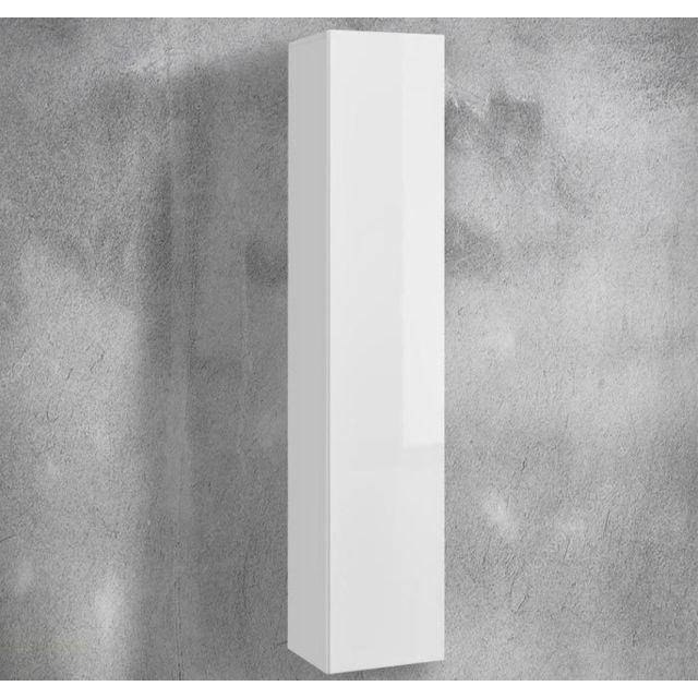 Design Ameublement Armoire mural modèle Martina P V35x175 35x175cm, blanc