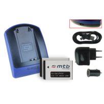 mtb more energy® - 2 Batteries + Chargeur USB, Lp-e12 pour Canon Eos 100D, Eos M, Eos Rebel Sl1