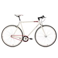 KS CYCLING - Fixie 28'' Essence blanc TC 59 cm