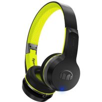 Monster - Isport Freedom Casque Audio Sport Bluetooth Noir et Vert