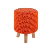 pouf en tricot achat pouf en tricot pas cher rue du commerce. Black Bedroom Furniture Sets. Home Design Ideas