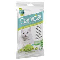 Sanicat - Gants Hygiéniques à l'Aloe Vera pour Chat