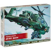 Mirage Hobby - 72051 1:72 ÉCHELLE, Ah-64 Apache - HÉLICOPTÈRE D'ATTAQUE, Kit De ModÈLE En Plastique