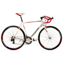 KS CYCLING - Vélo de course alu 28'' Euphoria blanc TC 53 cm