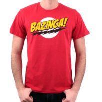 Cotton Division - Tshirt homme Big Bang Theory - Bazinga
