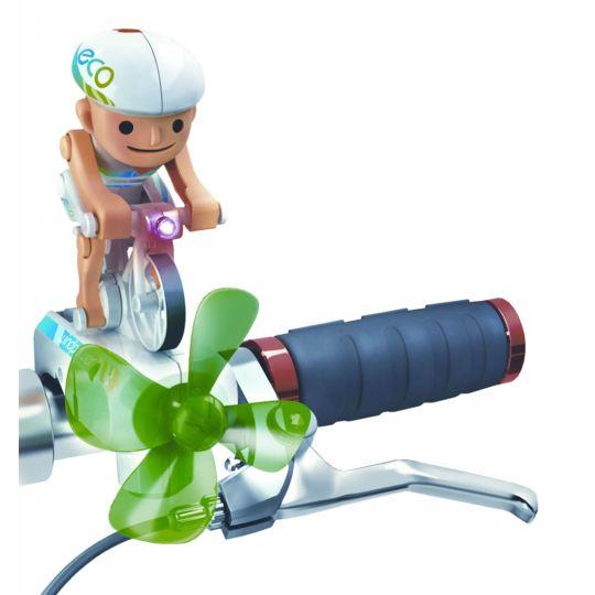 Power Plus - Cycliste pédalant avec la force du vent Chipmunk
