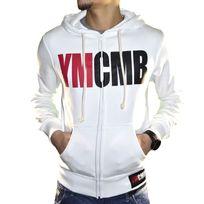 Ymcmb - Veste à Capuche - Homme - Hg600 - Blanc