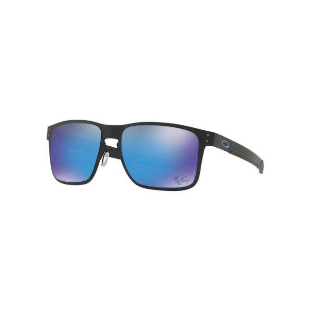 454315360252f Oakley - Lunettes Oakley Holbrook Metal Moto Gp noir avec verres Prizm  Sapphire