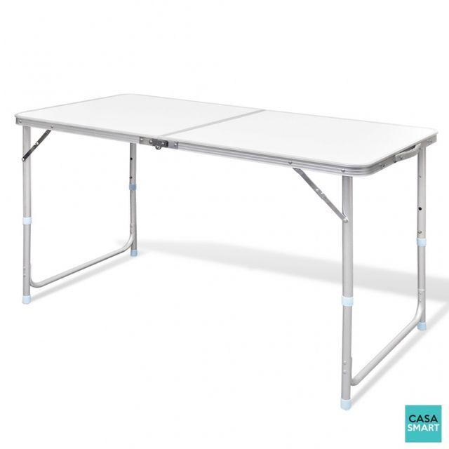CASASMART - Table pour camping hauteur réglable - pas cher ...