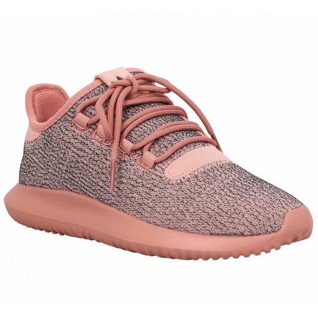 new product fb6d1 70317 Adidas - Tubular Shadow toile Femme-39 1 3-Rose - pas cher Achat   Vente  Baskets femme - RueDuCommerce