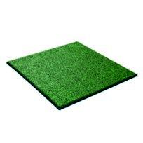 - Dalle amortissante verte pour aire de jeu