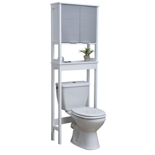 tendance le depot bailleul meuble wc coloris gris et. Black Bedroom Furniture Sets. Home Design Ideas